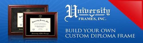 University Frames - Custom Diploma Frames