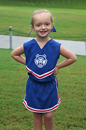 Third Street Wolf Cheerleader Set