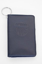 SAMSILL DELUXE ID HOLDER-GO WEST EMB EMBOSSED