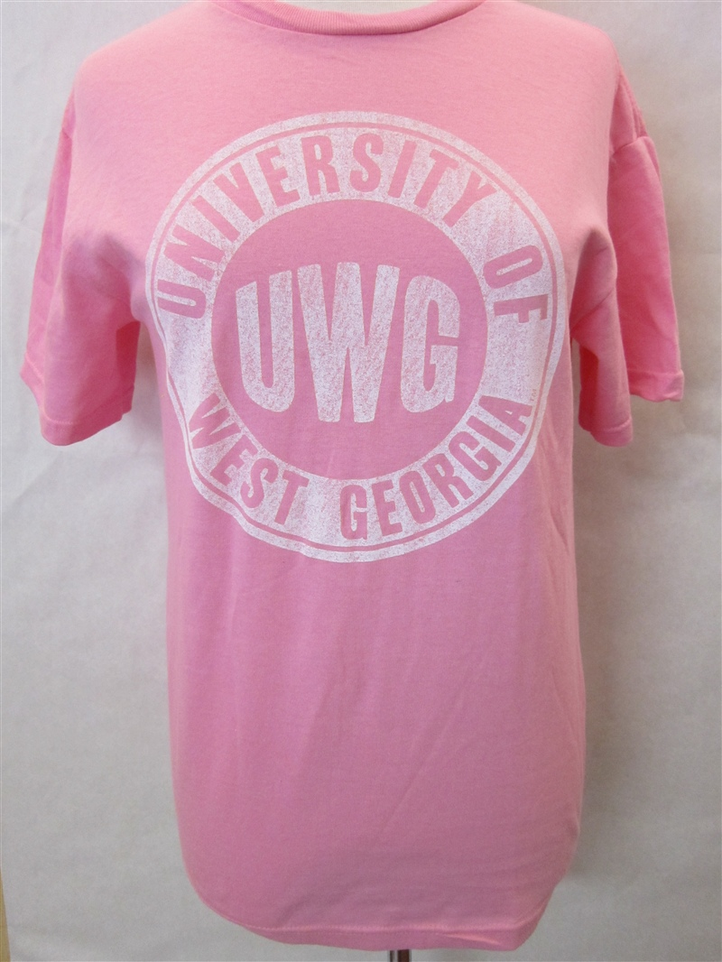 Pink University Of West Georgia T-Shirt