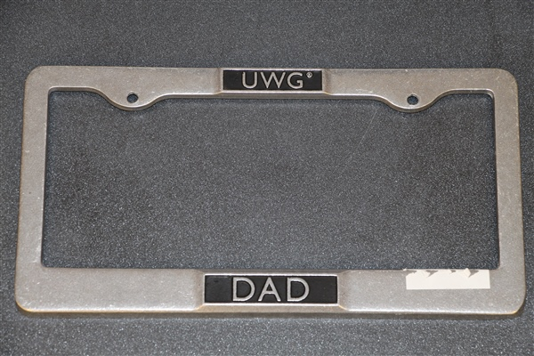 Carson Pewter Car Tag UWG Top Dad Bottom (SKU 11085614300)