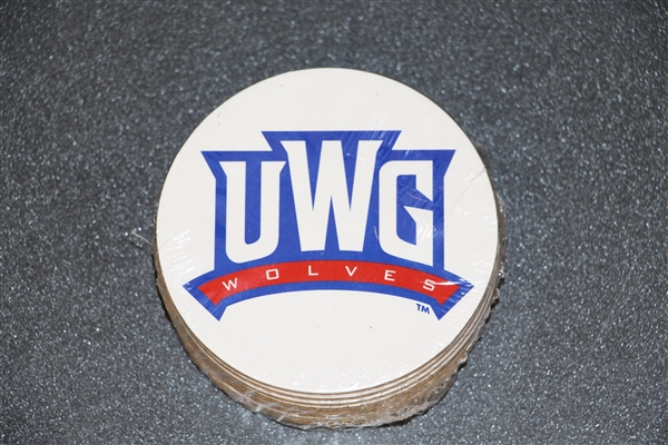 Uwg  Wolves10 Pack Coasters/Set