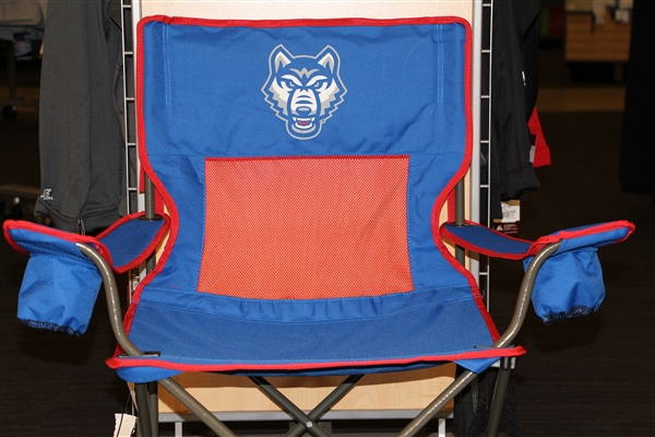 Uwg Wolves Logo Monster Mesh Chair