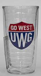 Tervis Tumbler Go West Shield Emblem