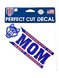 Decal/Cling: Univ West Ga Mom (W/Heads)