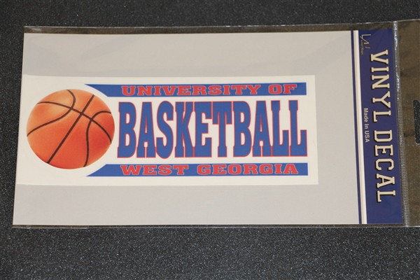 Decal/Cling: Univ West Ga Basketball (SKU 11142744304)