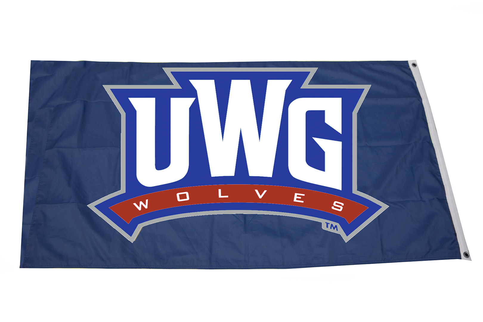 3 X 5 Uwg Wolves Logo Flag University Bookstore