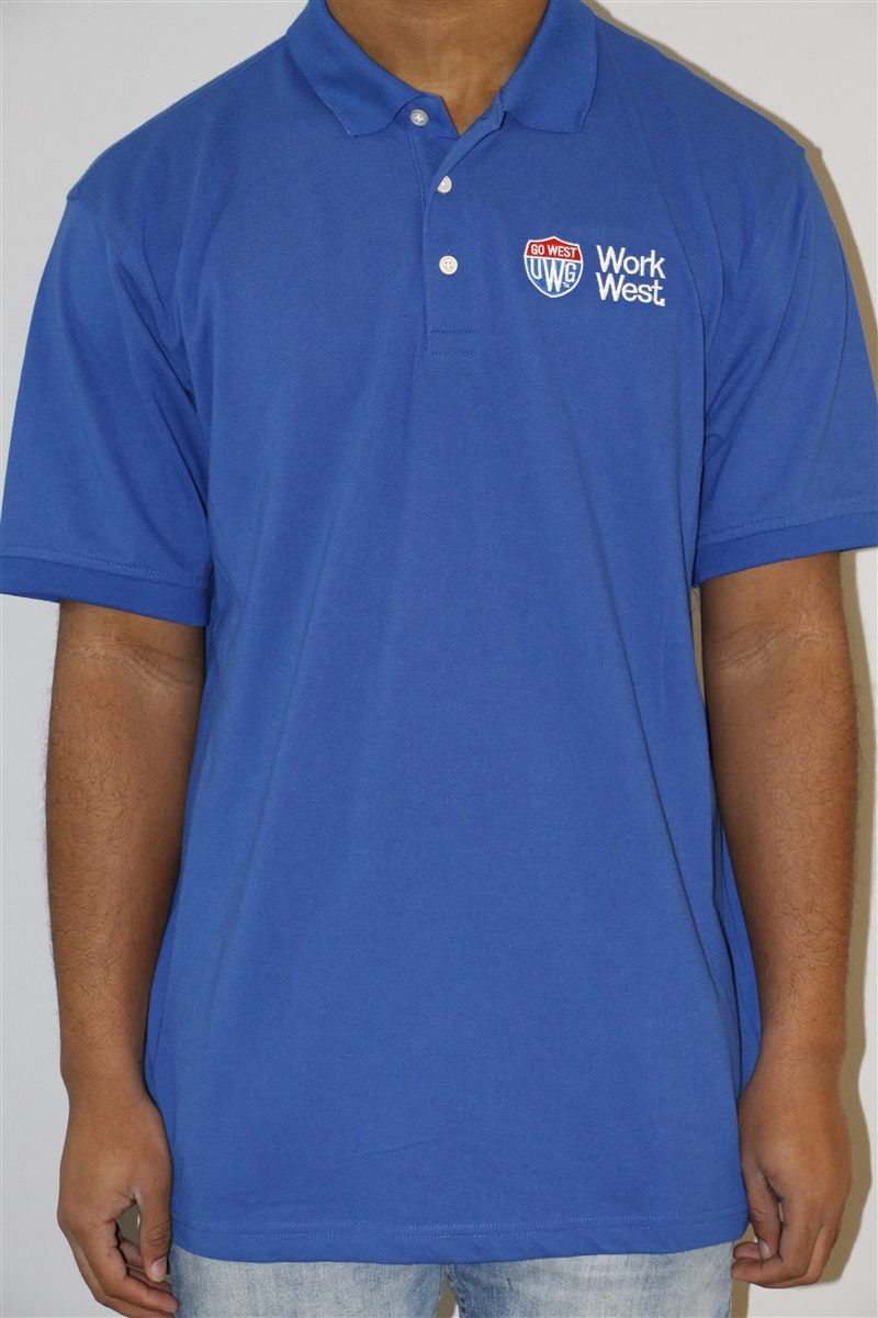 Go West/Work West Polo(Mens) (SKU 11158356295)