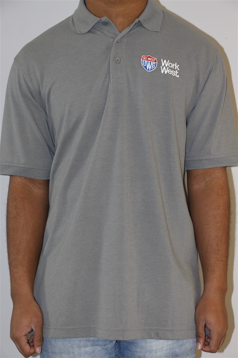 Go West/Work West Polo(Mens)