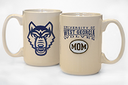 Univ. West Ga  Mom Medallion Mug