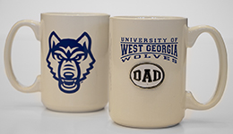 Univ. West Ga  Dad  Medallion Mug