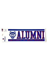 "Decal: University Of West Ga Alumni (3"" X 12"")"