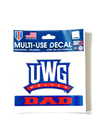 Decal: UWG Dad
