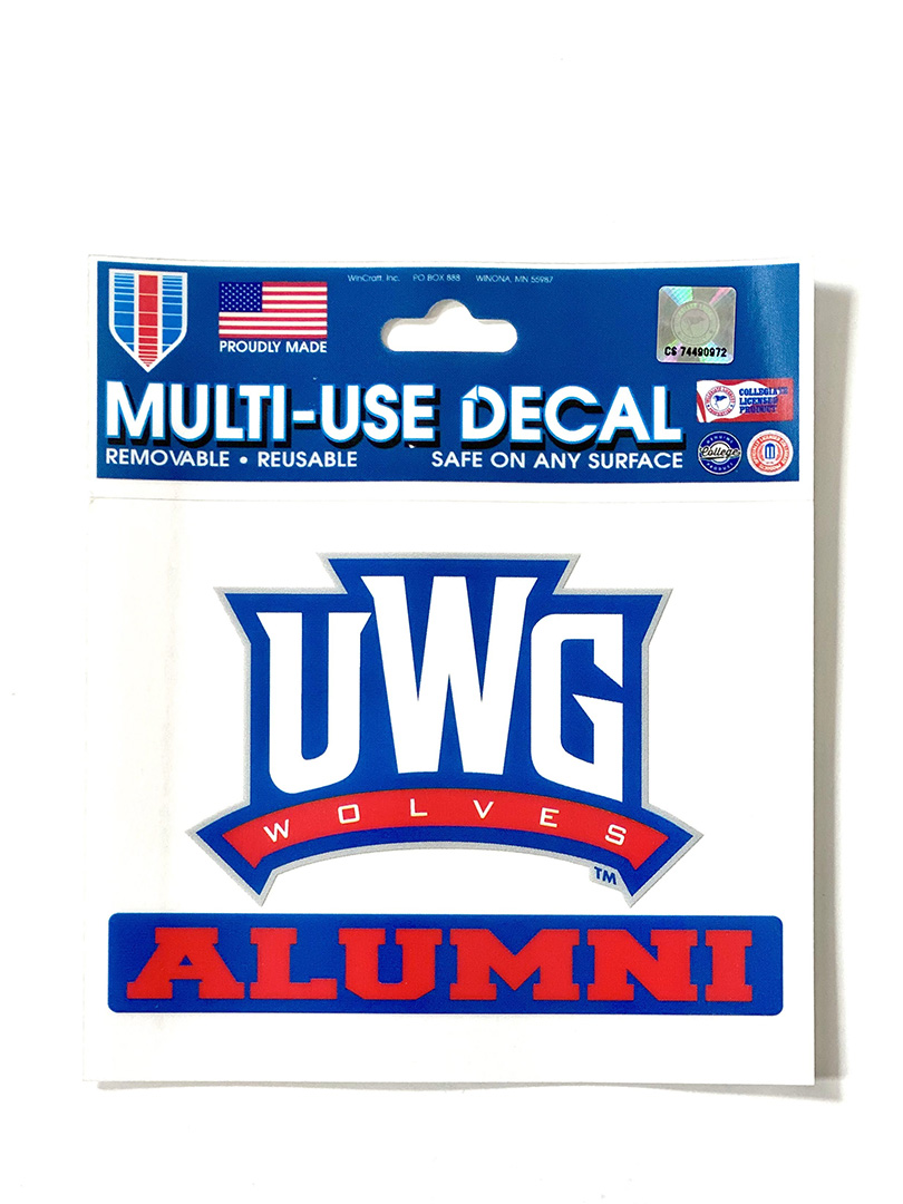 Decal: UWG Alumni (SKU 11218241304)