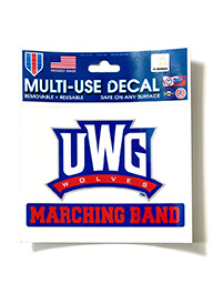 Decal: UWG Marching Band