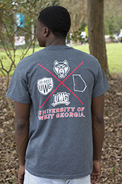 UWG MULTI LOGO FULL BACK T
