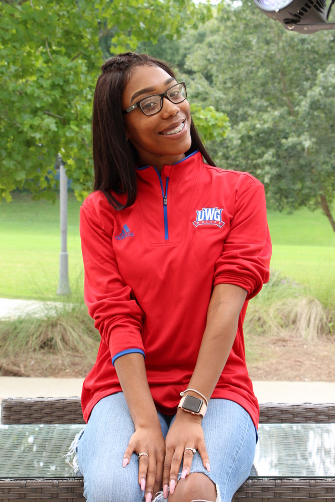 Adidas Team Iconic L. Sleeve Knit 1/4 Zip/Uwg Wolves Athlectic Logo