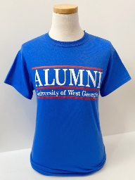 UWG Alumni Bar Design Tee