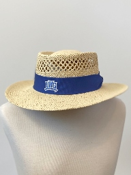Game Straw Hat With UWG Wolves Band