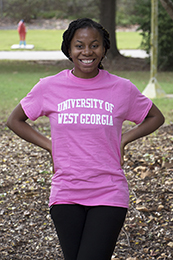UNIVERSITY OF WEST GA ROLLED T
