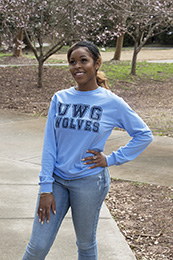 Uwg Wolves Long Sleeve Tee