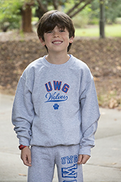 UWG WOLVES SWOOP SWEATSHIRT