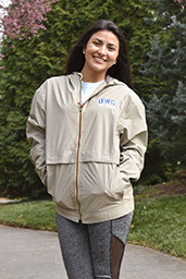 UWG HOODED FULL ZIP RAIN JACKET