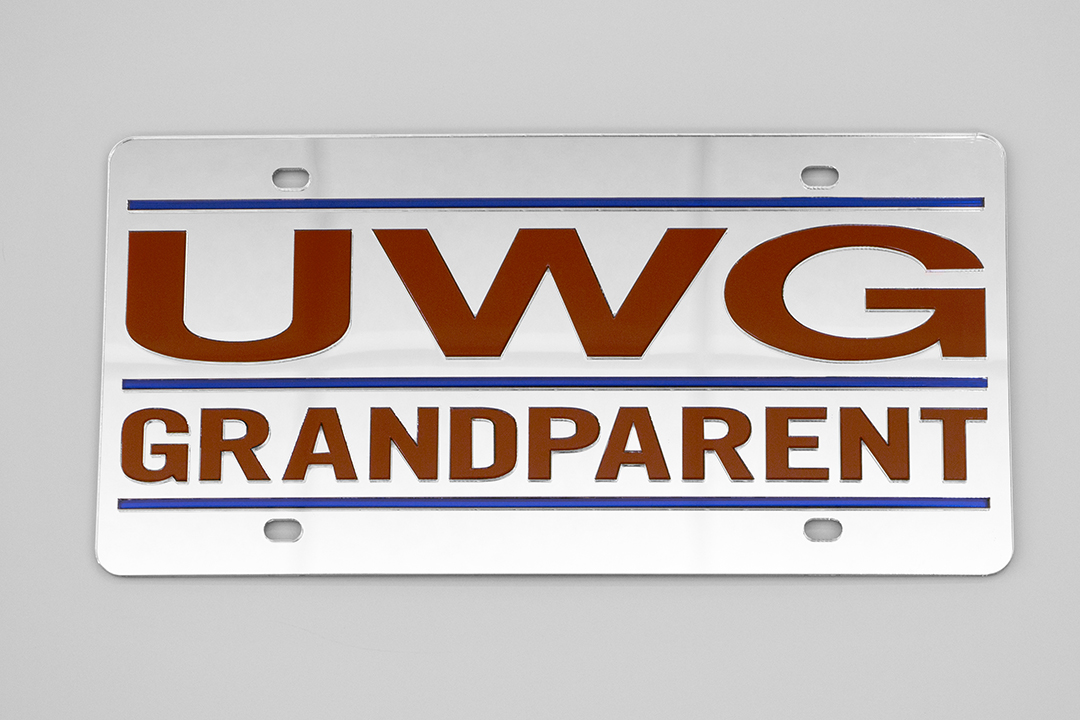 UWG Grandparent Mirror License Plate (SKU 11257806300)
