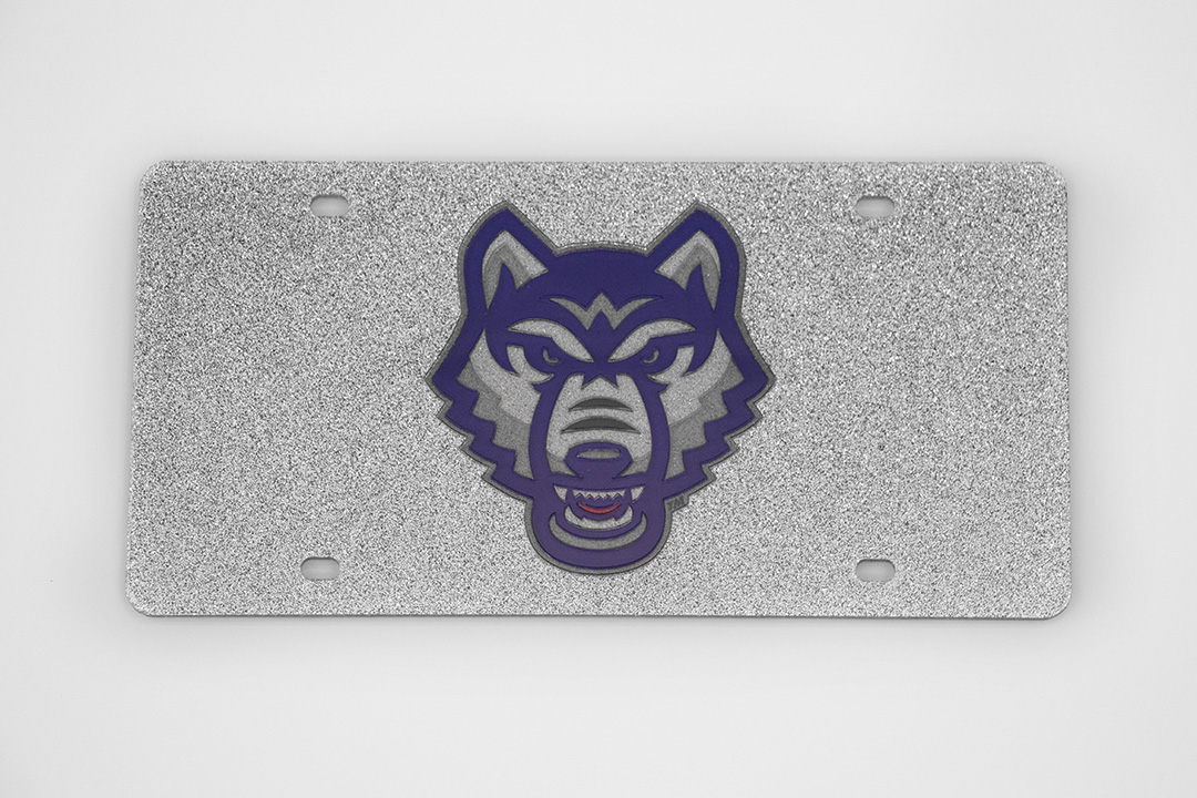 UWG Wolves Logo License Plate (SKU 11257820300)