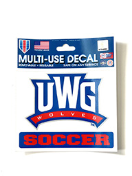 Decal: UWG Soccer