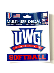 Decal: UWG Softball