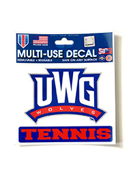 Decal: UWG Tennis