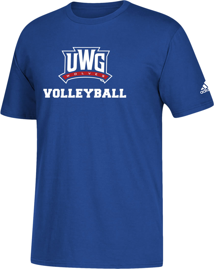 Uwg Fundraiser - Volleyball - Short Sleeve Cotton T-Shirt (SKU 11260875343)