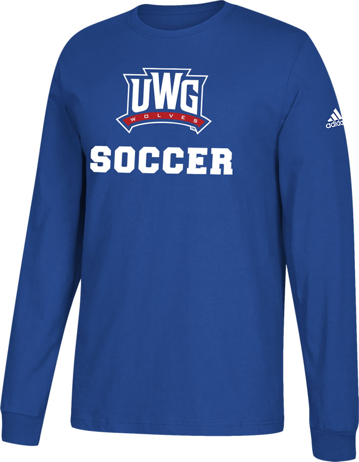 Uwg Fundraiser - Soccer - Long Sleeve Cotton T-Shirt (SKU 11261070343)