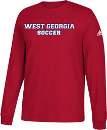 UWG FUNDRAISER - SOCCER - LONG SLEEVE COTTON T-SHIRT