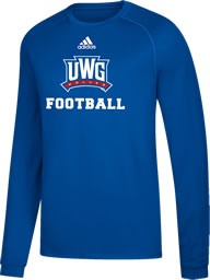 Uwg Fundraiser - Football - Climalite Long Sleeve T-Shirt