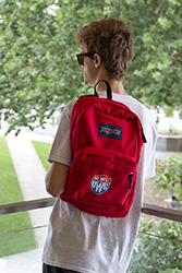Emblematic Superbreak  Backpack - Red