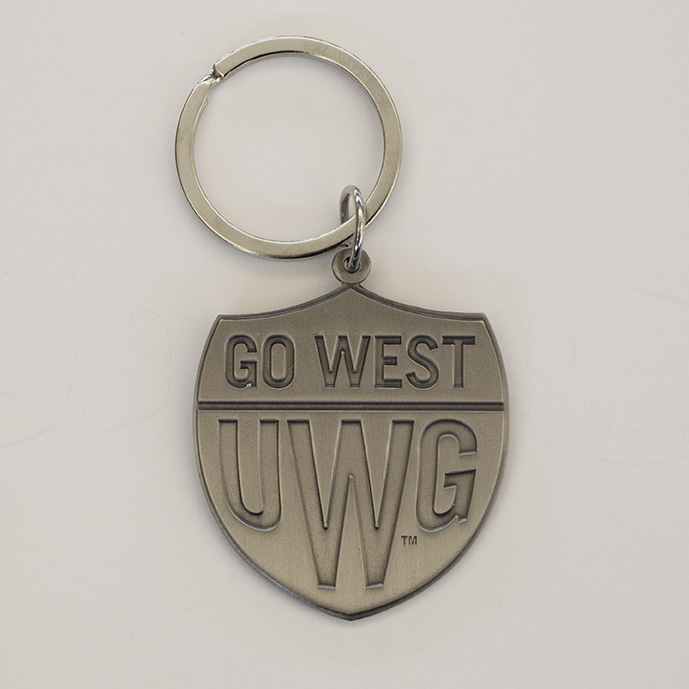 Go West Antique Silver Key Tag (SKU 11274537304)
