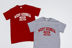 West Ga Wolves 1906 Combo Pack Short Sleeve T's