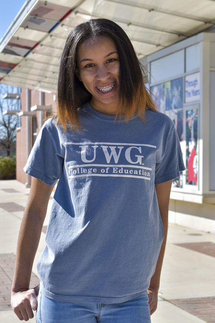 UWG College Of Edu Bar Design Tee (SKU 11283584259)