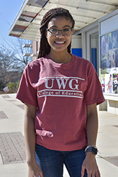 UWG COLLEGE OF EDU BAR DESIGN TEE