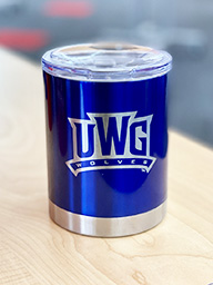 UWG Wolves 12 Oz Stainless Mug With Lid