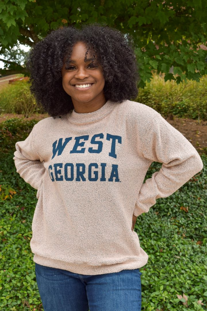 West Georgia Loop Fleece Mock Neck (SKU 11289241257)