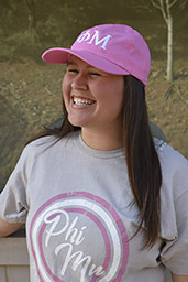 GREEK HAT: PHI MU