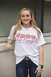 GREEK CHI OMEGA SHORT SLEEVE TEE