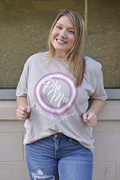 GREEK PHI MU SHORT SLEEVE TEE
