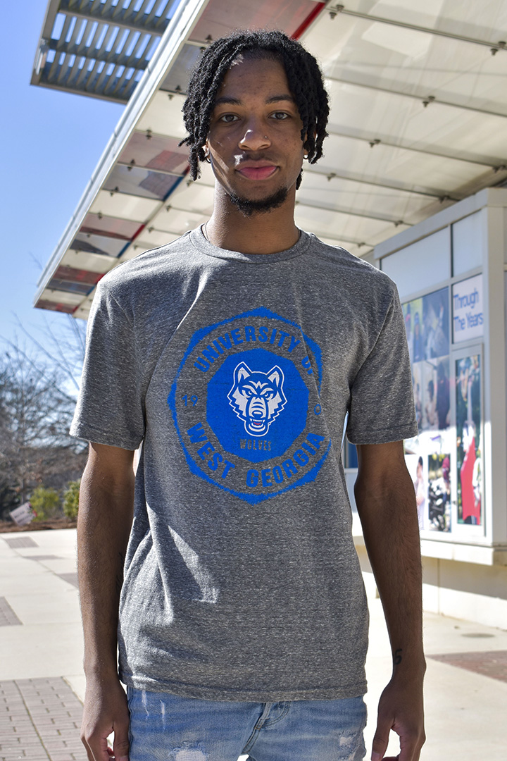 Distressed UWG Wolves /1906 Tee (SKU 11299073265)