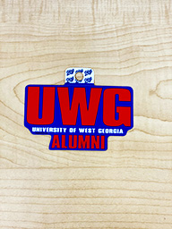 Sticker: UWG - University Of West Ga Alumni