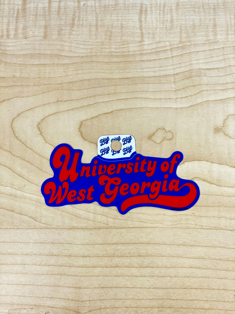Sticker: University Of West Georgia (SKU 11301103304)
