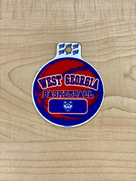 Sticker: West Georgia Basketball